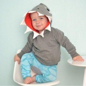 Doodle Pants Shirts & Tops - Doodle Pants Shark sweatshirt